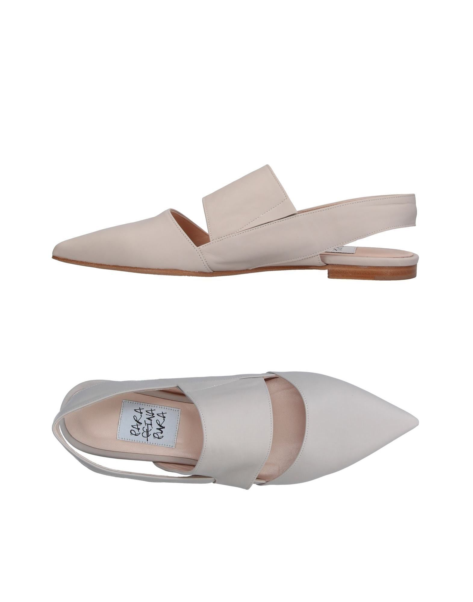 Stilvolle billige Schuhe Paraffina Pura Ballerinas Damen  11341287SX