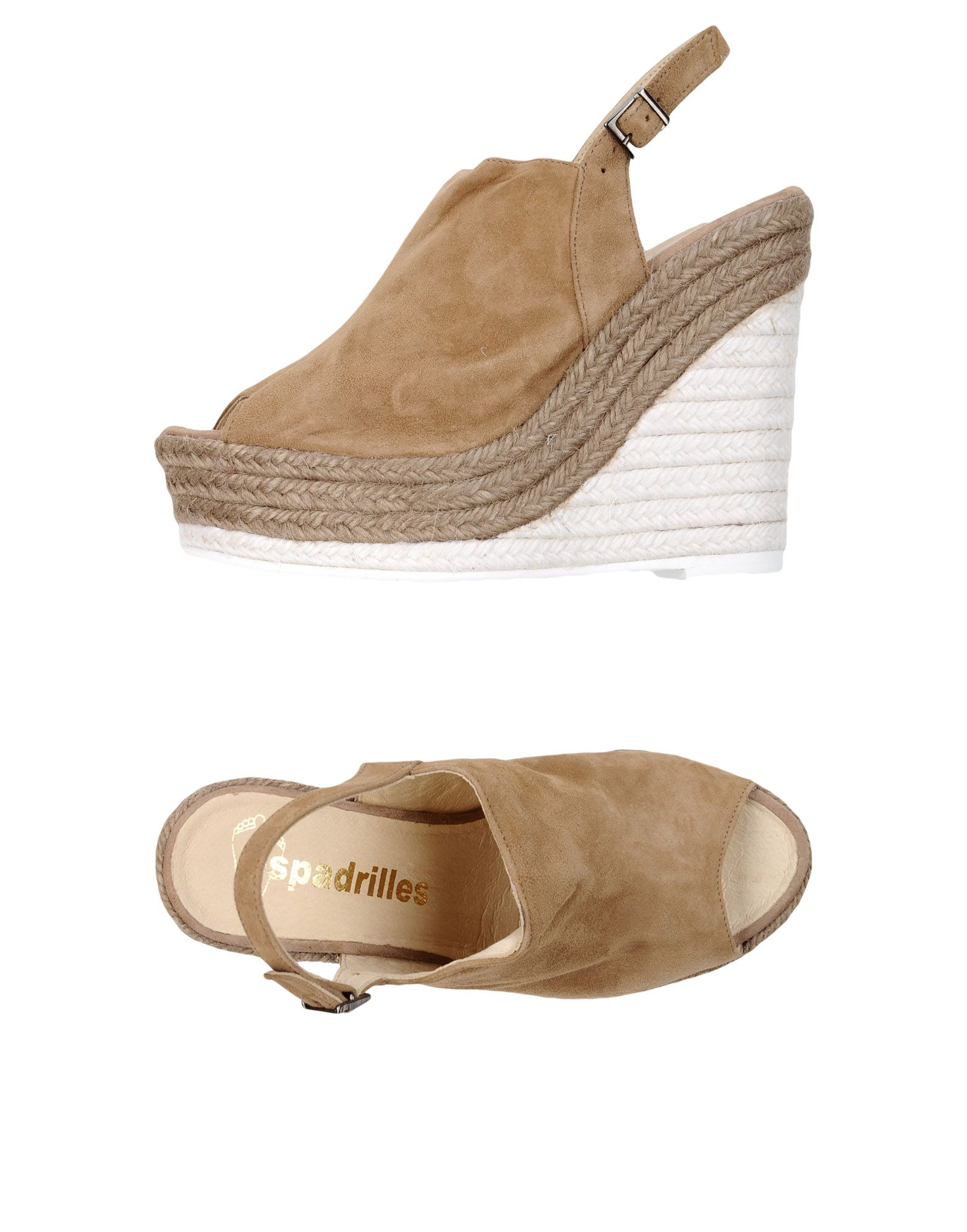 Moda Sandali Espadrilles Donna - - Donna 11341583DD 106352