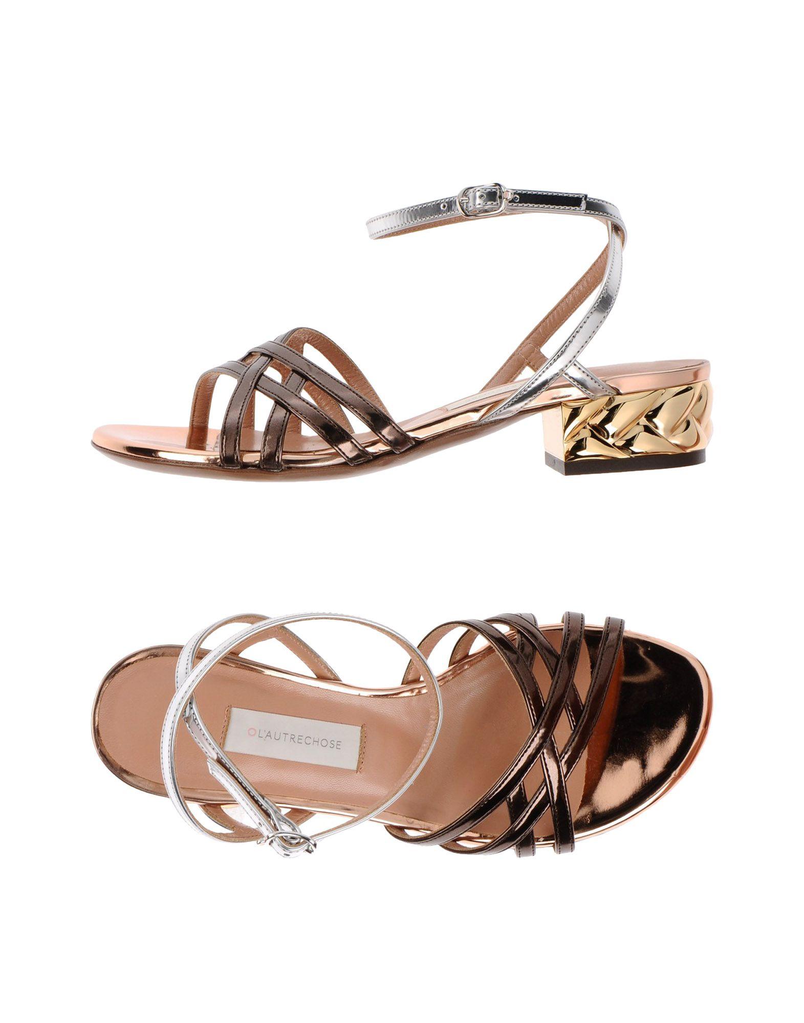 Stilvolle billige Schuhe L' Autre Chose Sandalen Damen  11342360NF