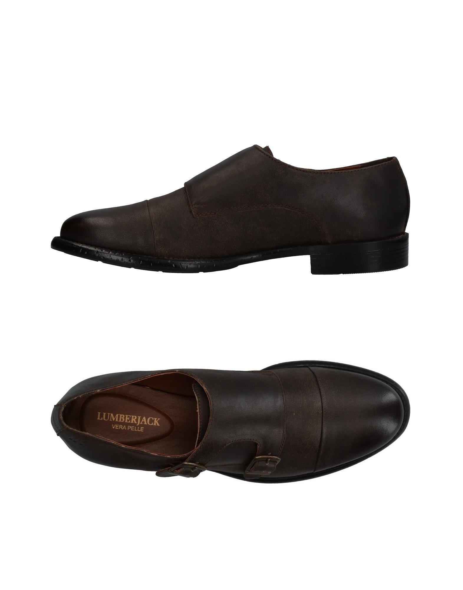 Rabatt echte Schuhe Lumberjack Mokassins Herren  11342480GL