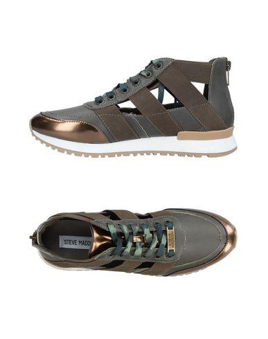Zapatos especiales para hombres y mujeres Zapatillas Steve Madd Mujer - Zapatillas Steve Madd - 11342532LF Verde oscuro