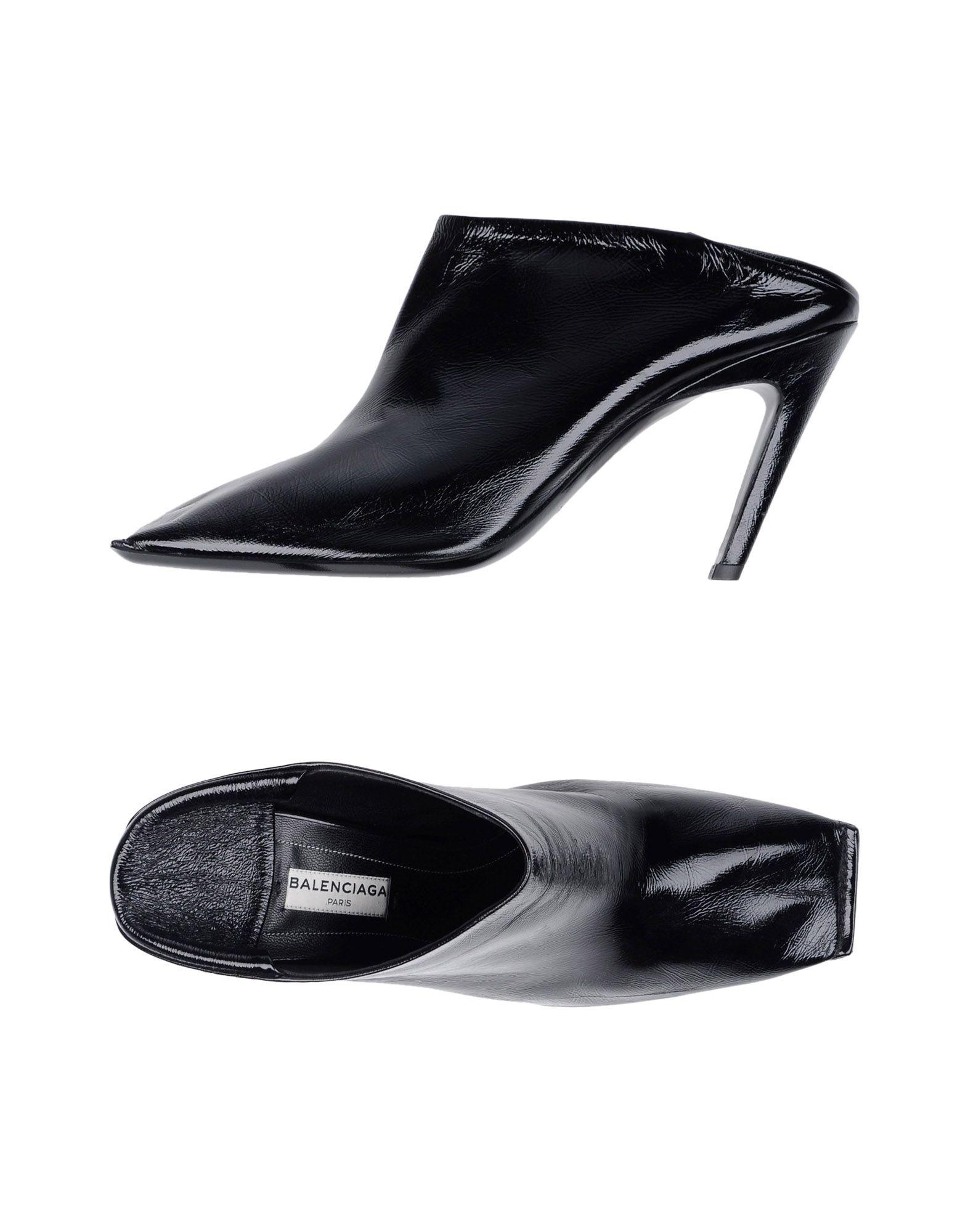 Balenciaga Pantoletten Damen  11342998PTGünstige gut aussehende Schuhe