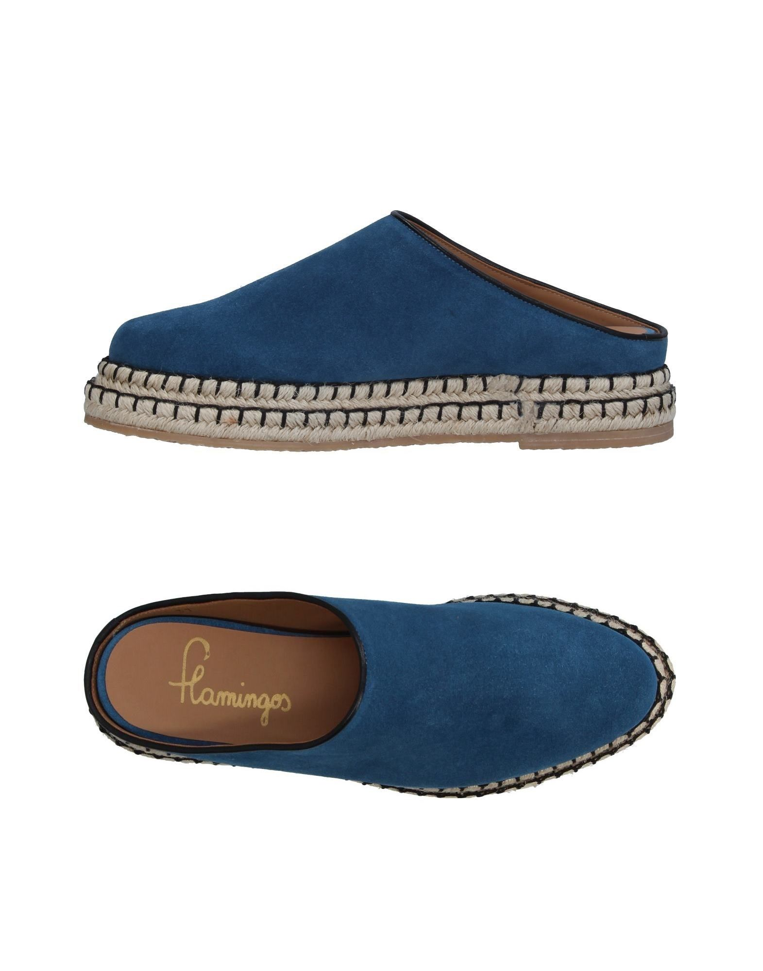 Stilvolle billige Schuhe Flamingos Pantoletten Damen  11343620FX