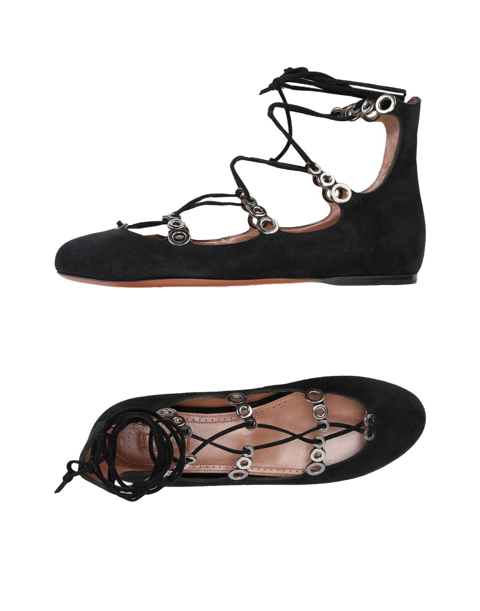 Alaïa Ballerinas aussehende Damen  11344312VVGünstige gut aussehende Ballerinas Schuhe 2f429c
