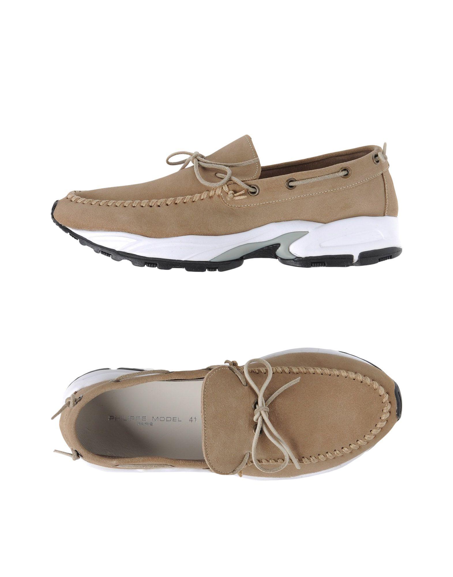 Rabatt echte Schuhe Philippe Model Mokassins Herren  11344322UW