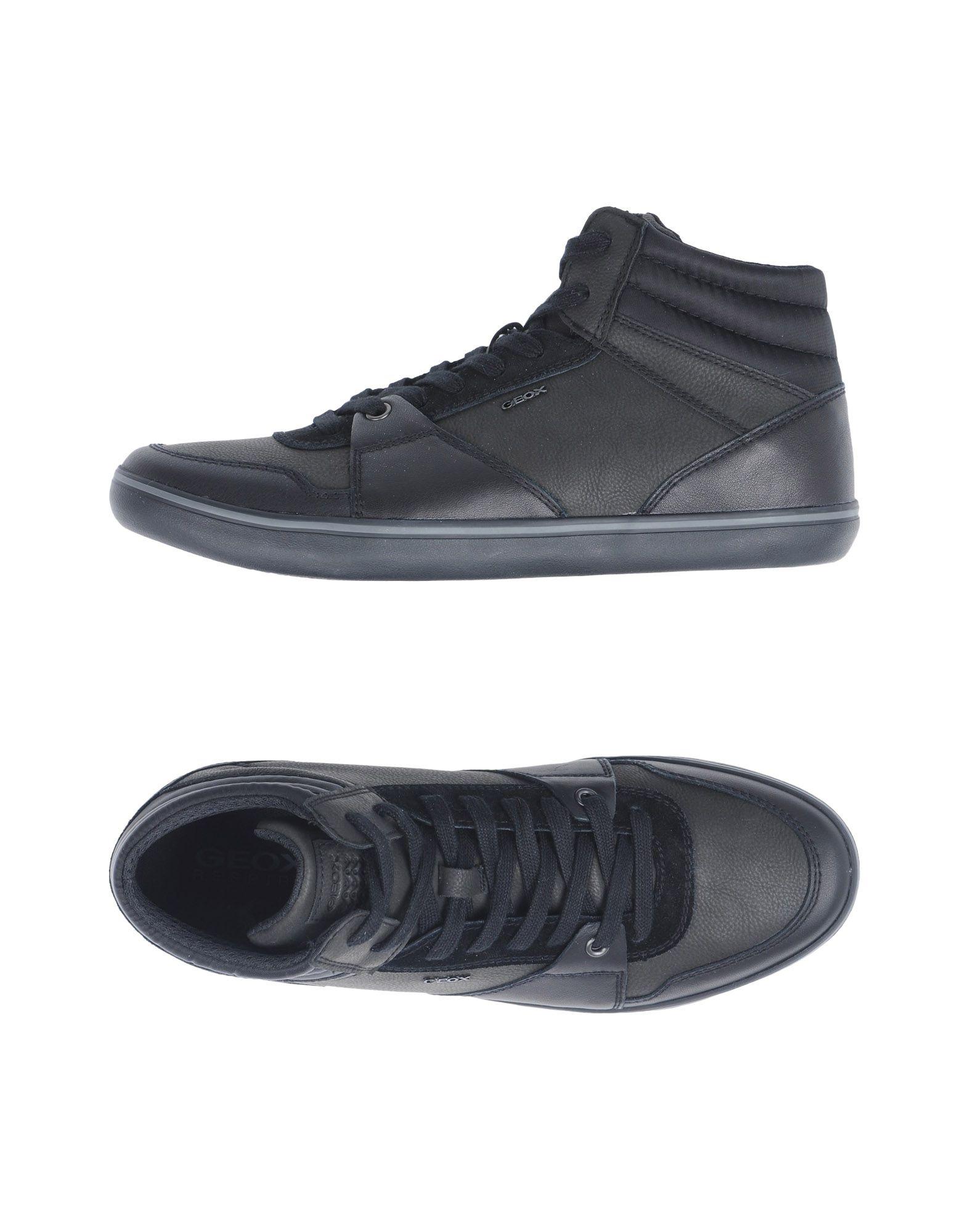 Sneakers Geox Homme - Sneakers Geox  Noir Meilleur modèle de vente