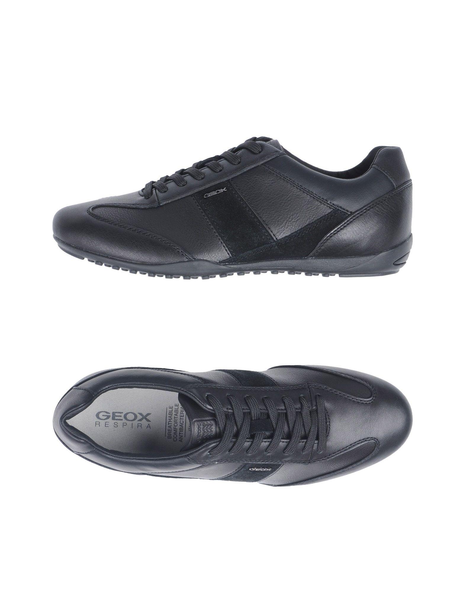 Sneakers Geox Homme - Sneakers Geox  Noir Spécial temps limité