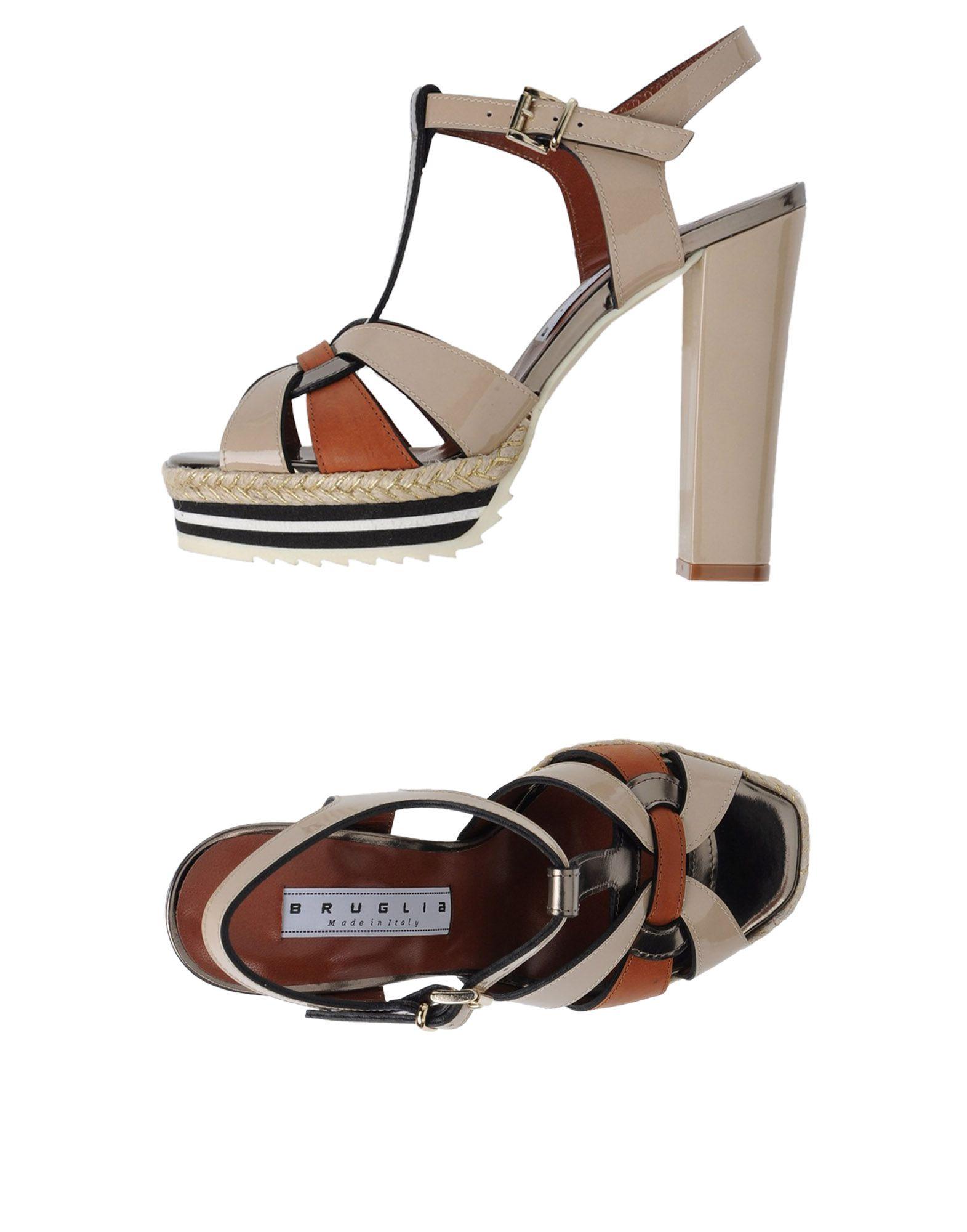 F.Lli Bruglia Sandalen Damen  Schuhe 11345554GI Neue Schuhe  6acead