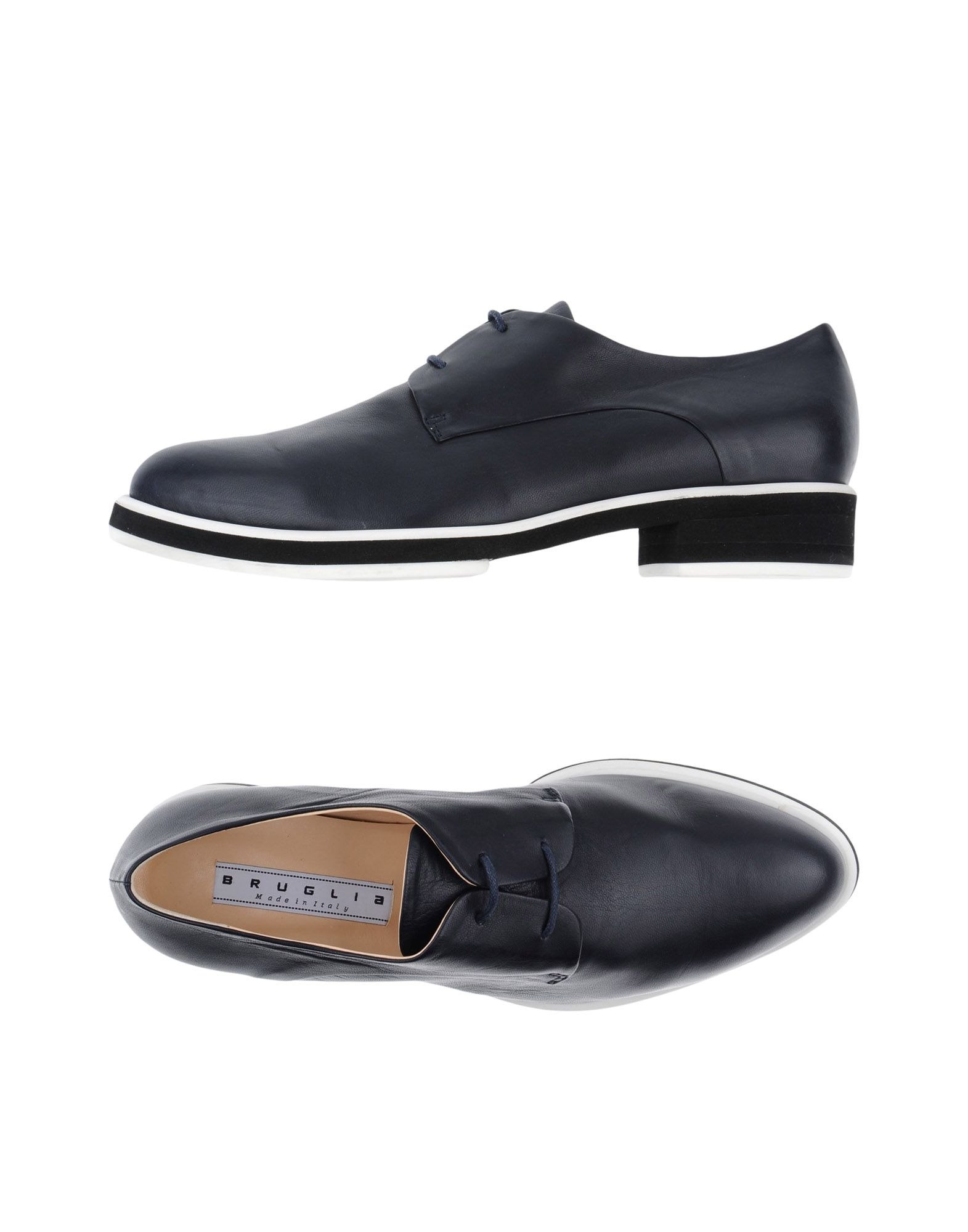 Zapatos casuales salvajes Zapato De Cordones F.Lli Bruglia De Mujer - Zapatos De Bruglia Cordones F.Lli Bruglia  Azul oscuro d31518