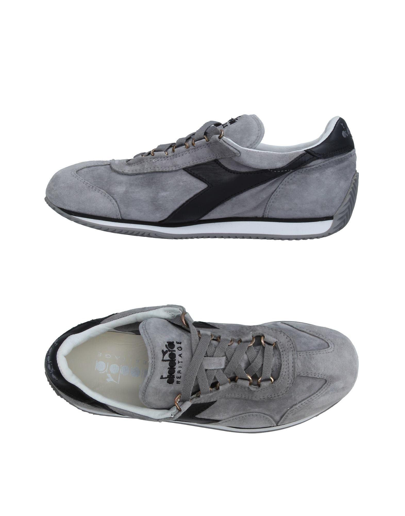 Baskets Diadora Heritage Femme - Baskets chaussures Diadora Heritage Gris Dernières chaussures Baskets discount pour hommes et femmes 3c84f4