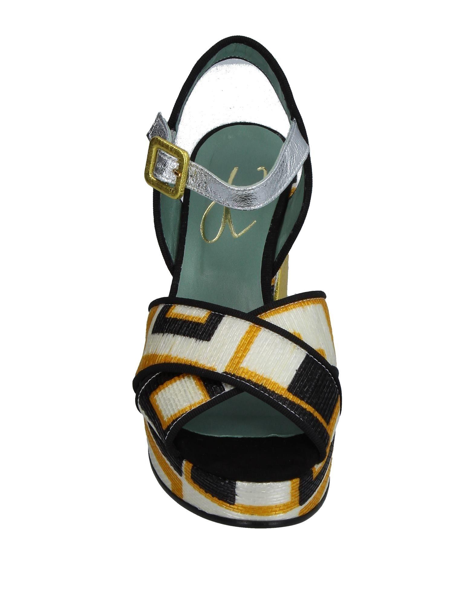 Paola D arcano Sandalen Schuhe Damen 11346173PUGut aussehende strapazierfähige Schuhe Sandalen 19347a