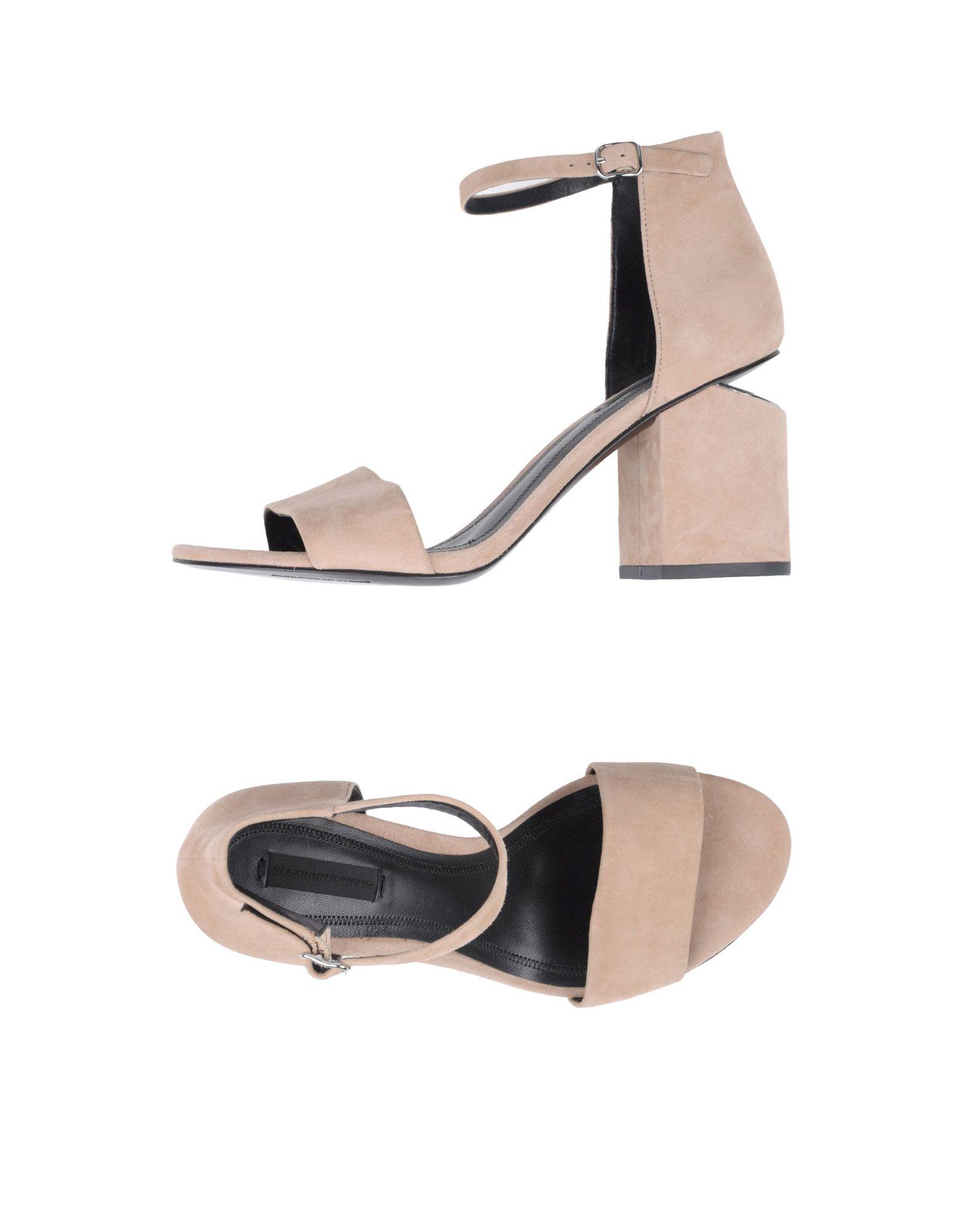 Rabatt Schuhe Alexander Wang Sandalen Damen  11347004HL