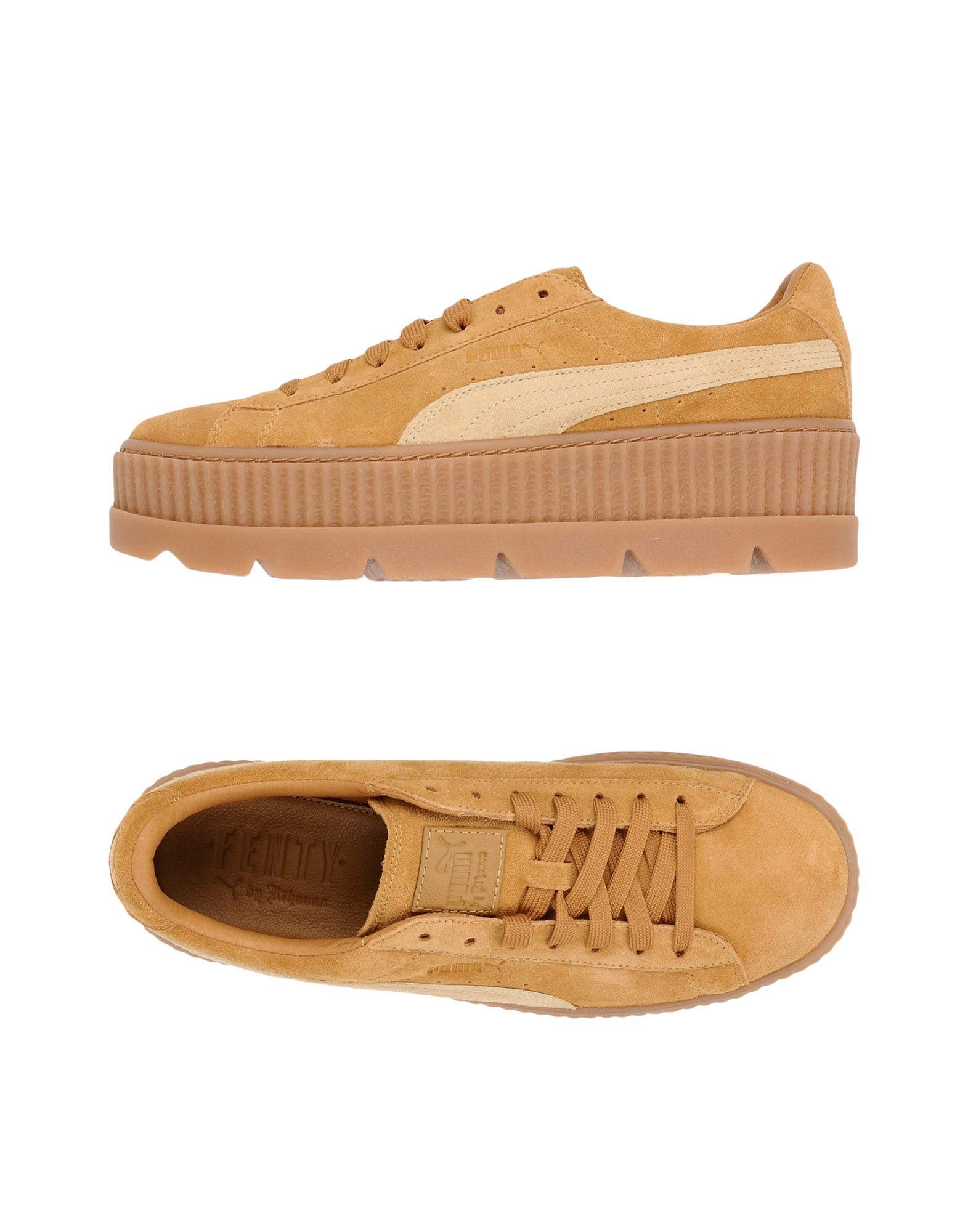 By Homme Cleated Suede Fenty Puma Rihanna Creeper Sneakers I6gyYfbv7