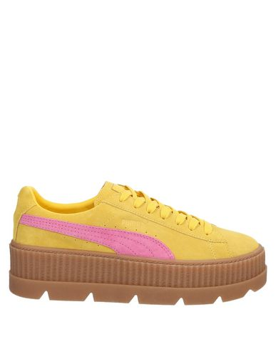 puma shoes rihanna yellow men