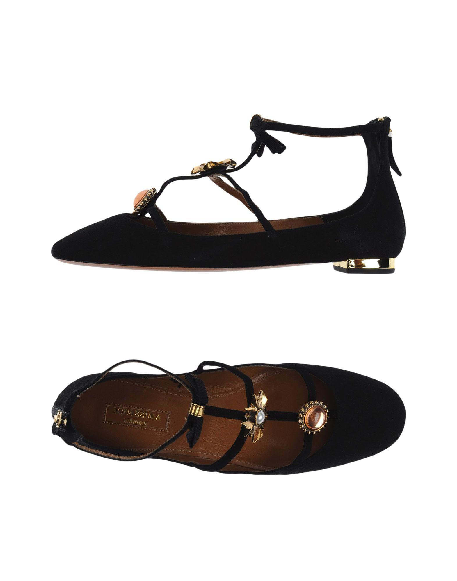 Aquazzura Ballerinas Damen  11347063SMGünstige gut aussehende Schuhe