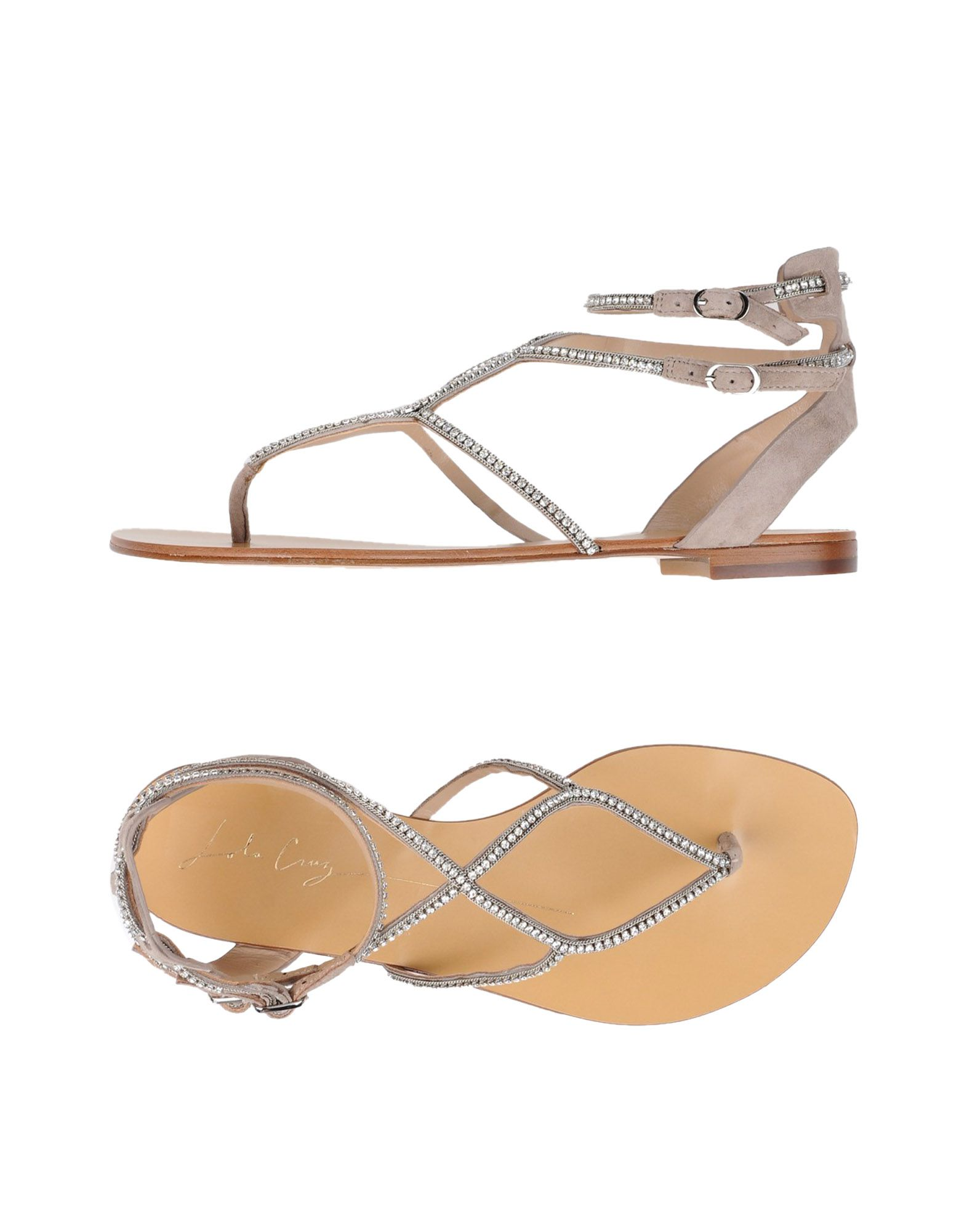 Stilvolle billige Schuhe Lola Cruz Dianetten Damen  11347274SM