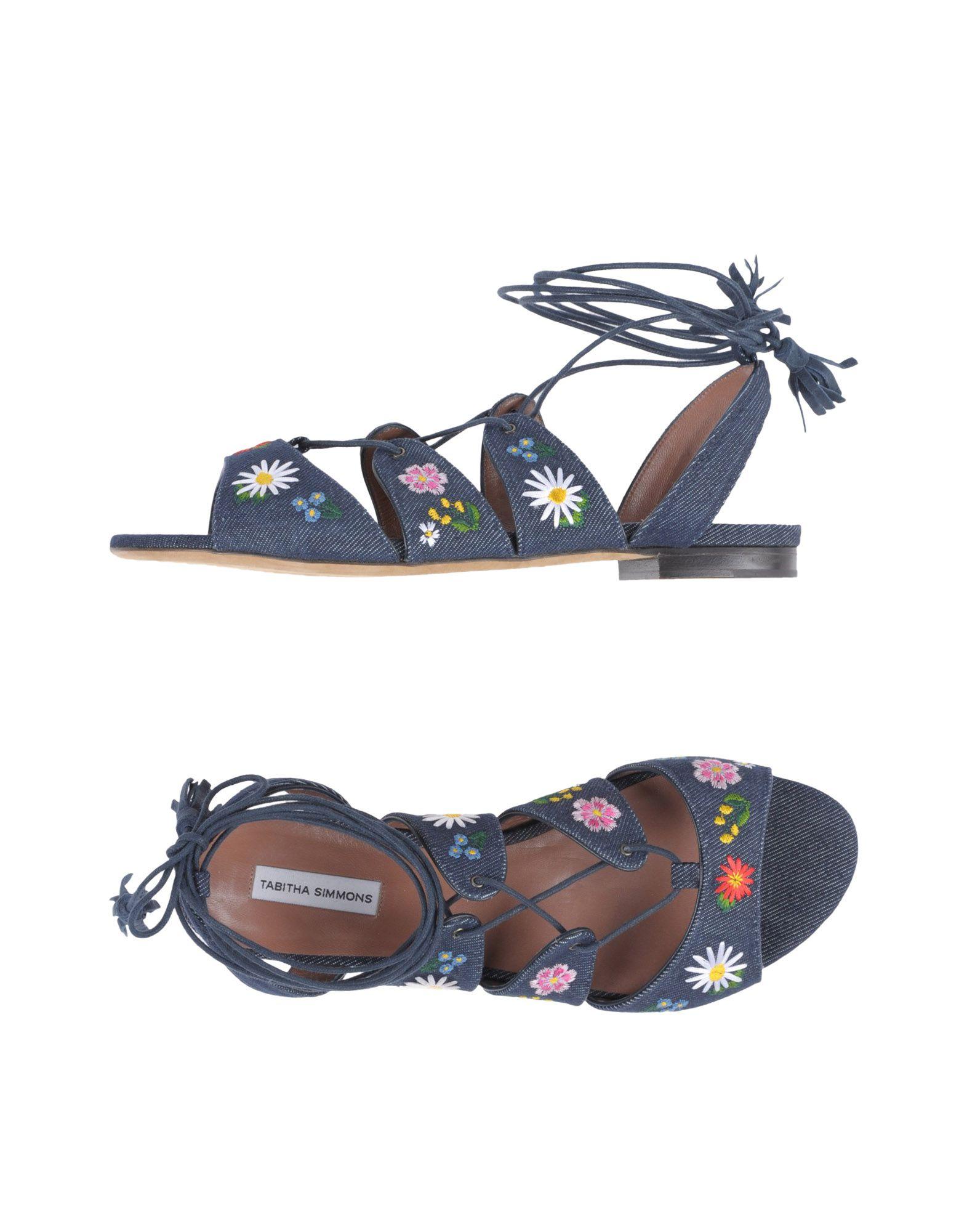 Gut um billige Schuhe zu tragenTabitha Simmons Sandalen Damen  11347316II