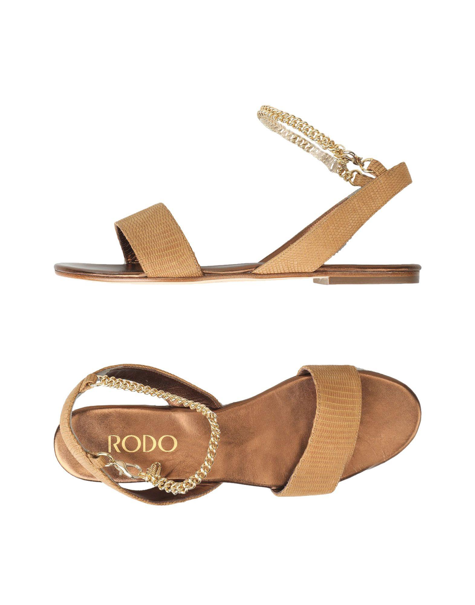 Stilvolle billige Schuhe Rodo Sandalen Damen  11347730GM