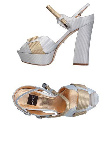 Los últimos hombres zapatos de descuento para hombres últimos y mujeres Sandalia Rodo Mujer - Sandalias Rodo - 11348166TS Plata eb031d