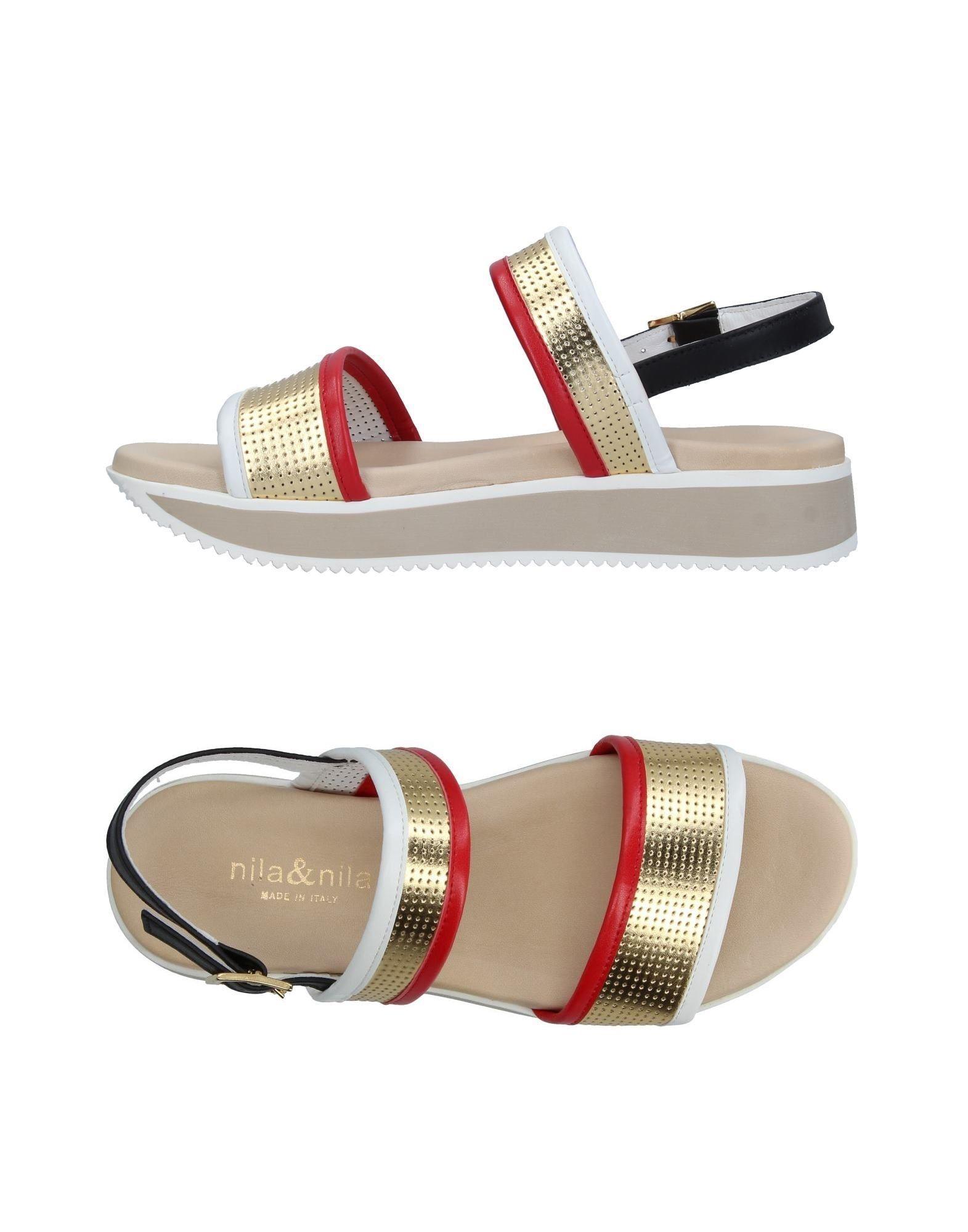 Nila & Nila Sandalen Damen  11348382MC Gute Qualität beliebte Schuhe