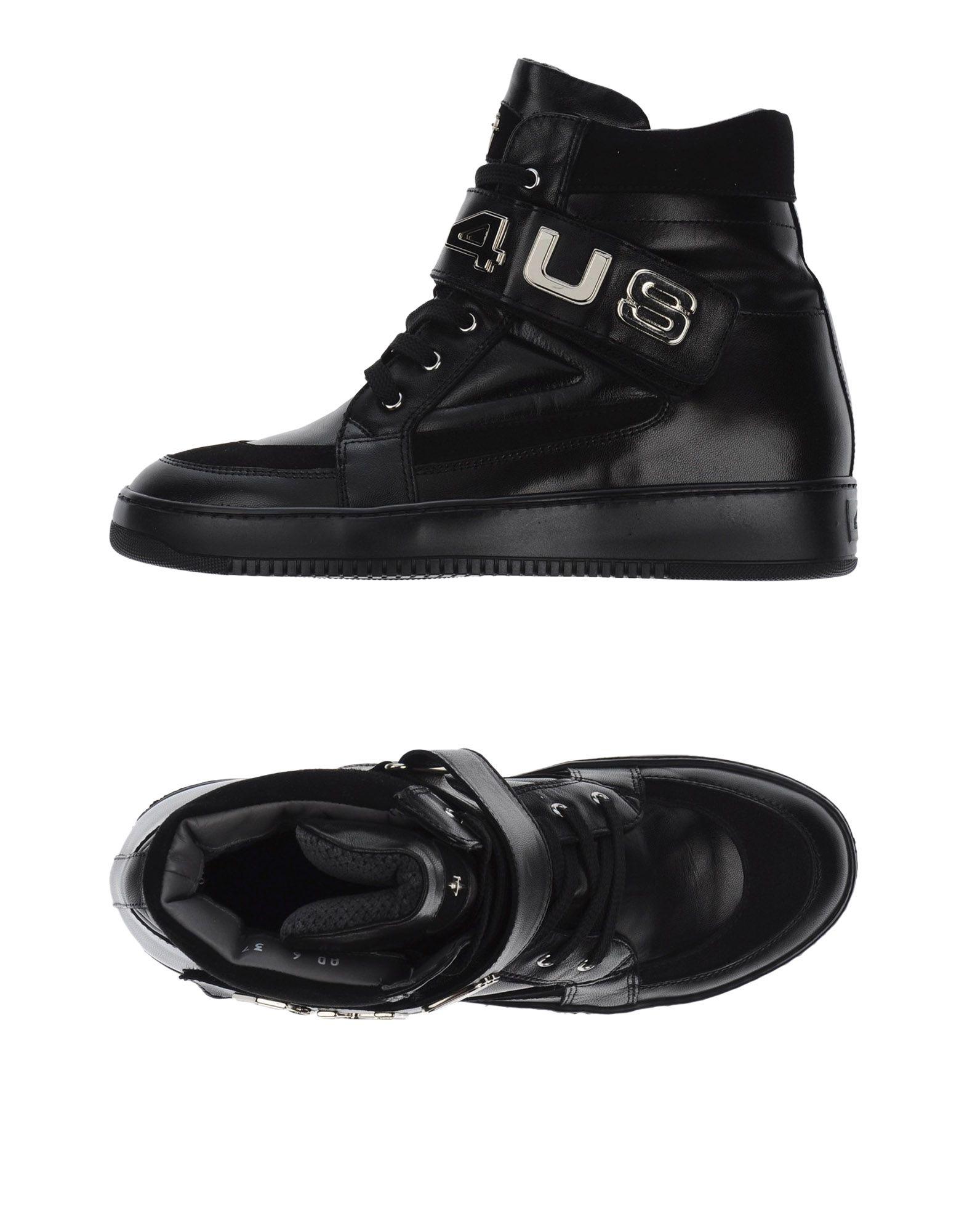 Baskets Cesare Paciotti 4Us Femme - Baskets Cesare Paciotti 4Us Noir Chaussures casual sauvages