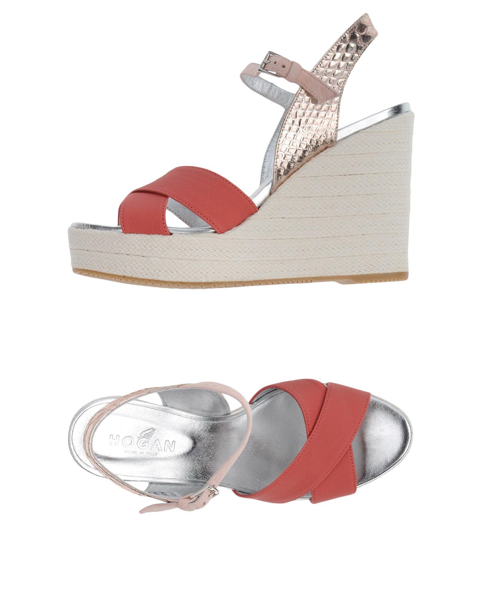 Stilvolle billige Schuhe Hogan Sandalen Damen  11350471XP
