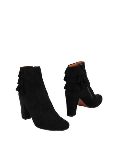 Boots for Women, Booties On Sale, Black, Suede leather, 2017, 4.5 Chie Mihara