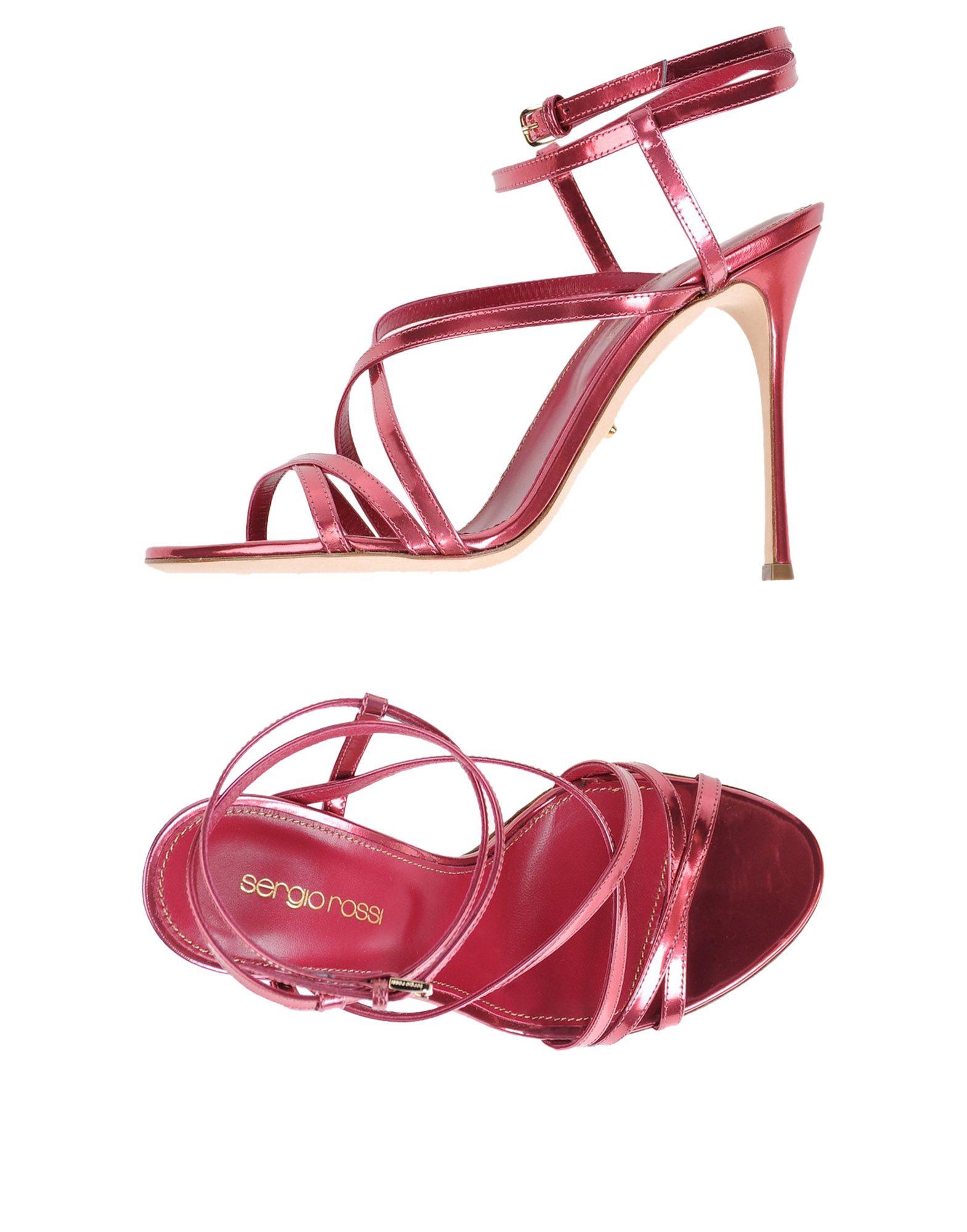 Rabatt Schuhe Sergio Rossi Sandalen Damen  11353151XO