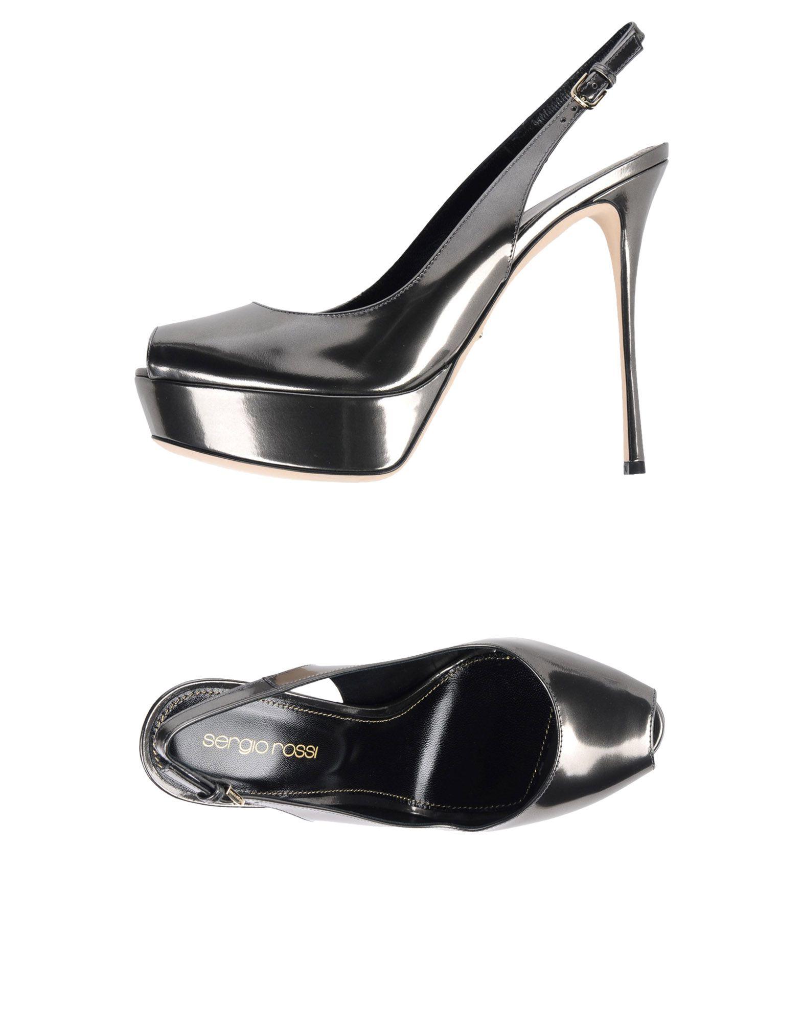 Stilvolle billige Schuhe Sergio Rossi Sandalen Damen  11353171RC