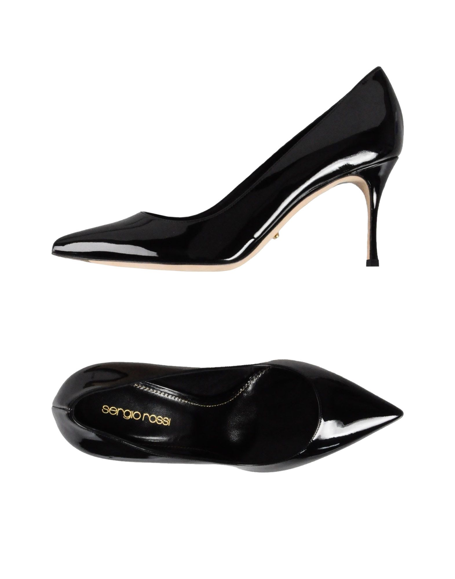 Escarpins Sergio Rossi Femme - Escarpins Sergio Rossi Noir Chaussures casual sauvages