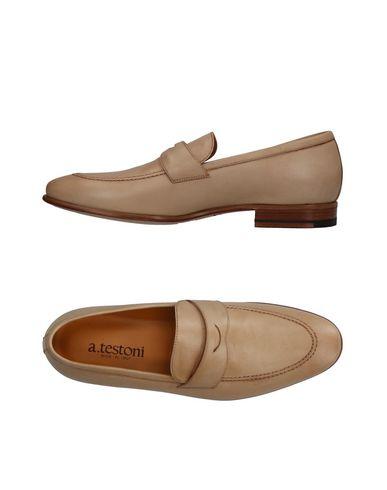 Zapatos con descuento Mocasín A.Testoni Hombre - Mocasines A.Testoni - 11353256OR Arena