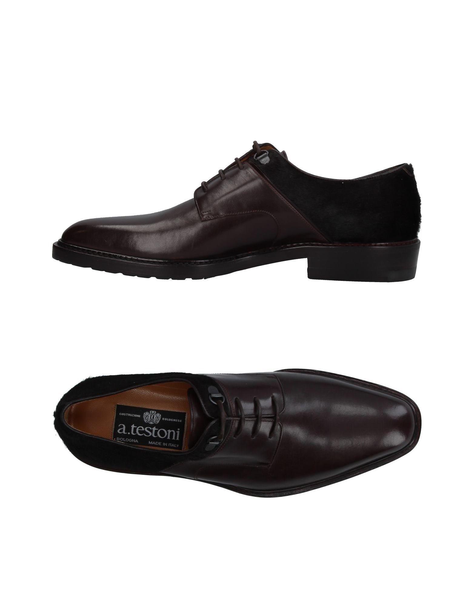 A.Testoni Schnürschuhe Herren  11353357QM Gute Qualität beliebte Schuhe