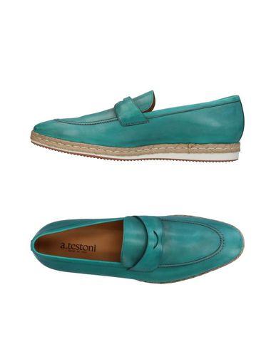 Zapatos con descuento Mocasín A.Testoni Hombre - Mocasines A.Testoni - 11353429ET Caqui