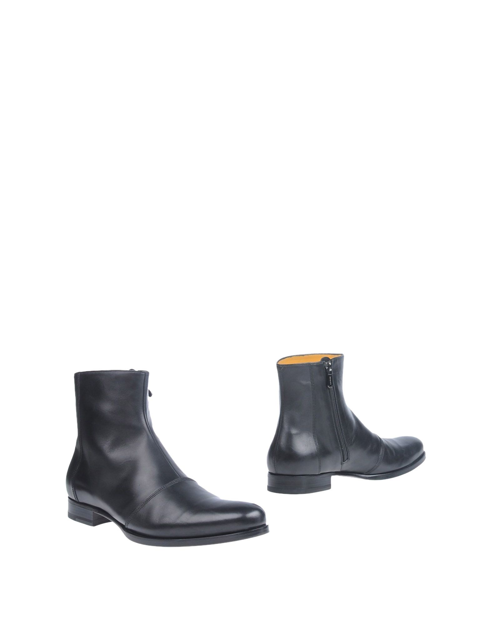 Bottine A.Testoni Homme - Bottines A.Testoni  Noir Nouvelles chaussures pour hommes et femmes, remise limitée dans le temps