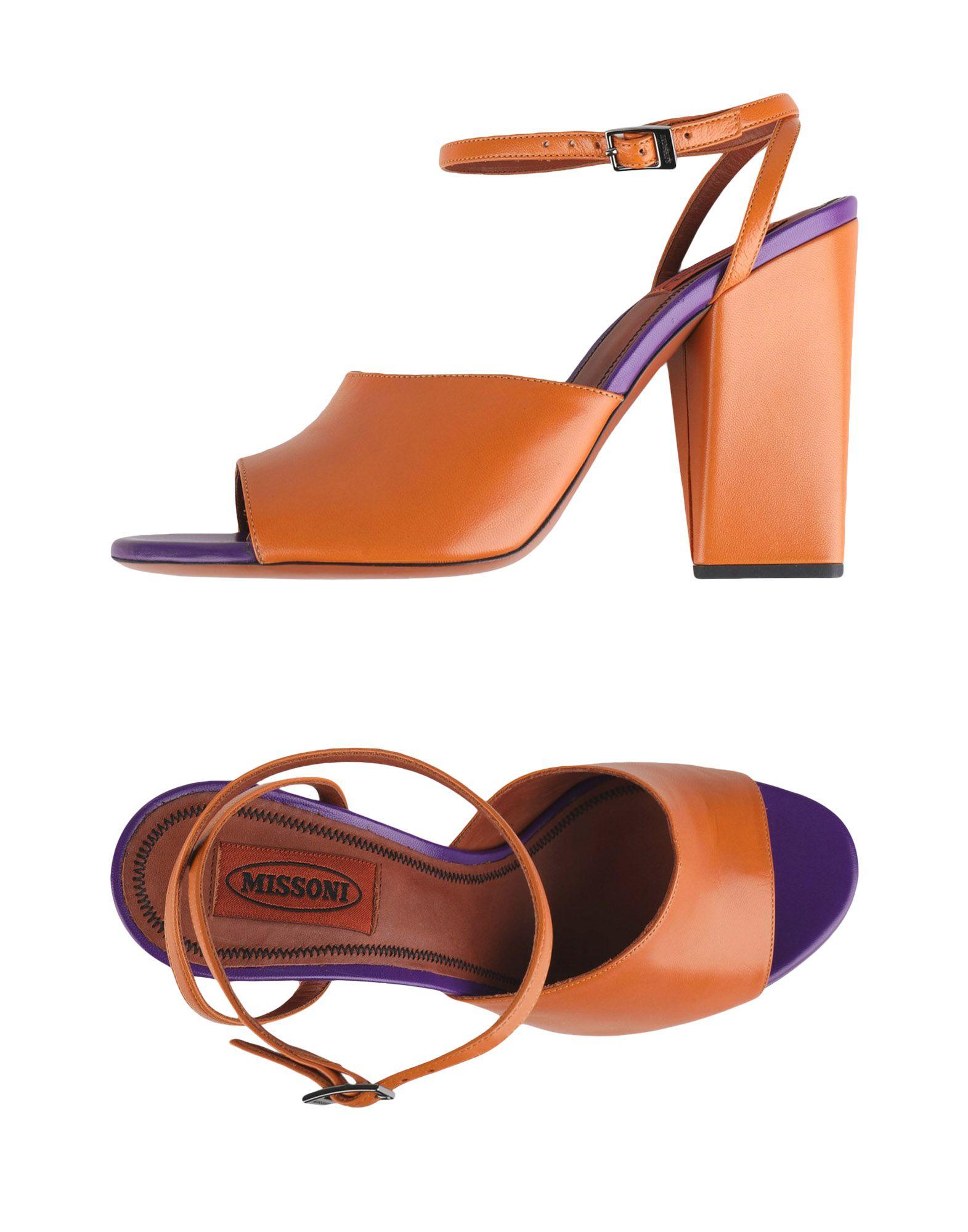 Rabatt Schuhe Missoni Sandalen Damen  11353697IC