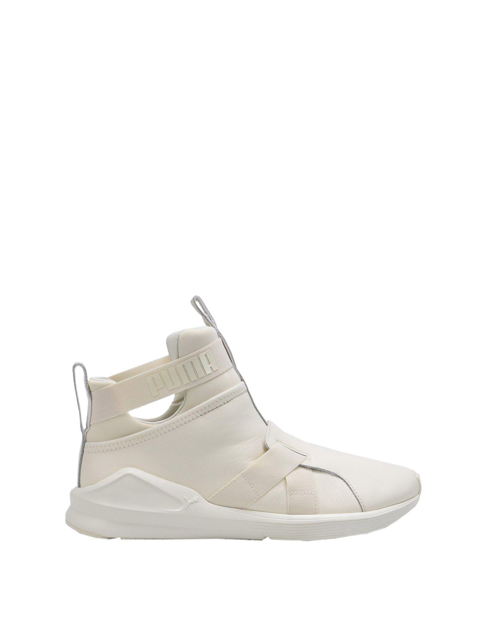Sneakers Puma Fierce Strap Leather Wns - Femme - Sneakers Puma sur