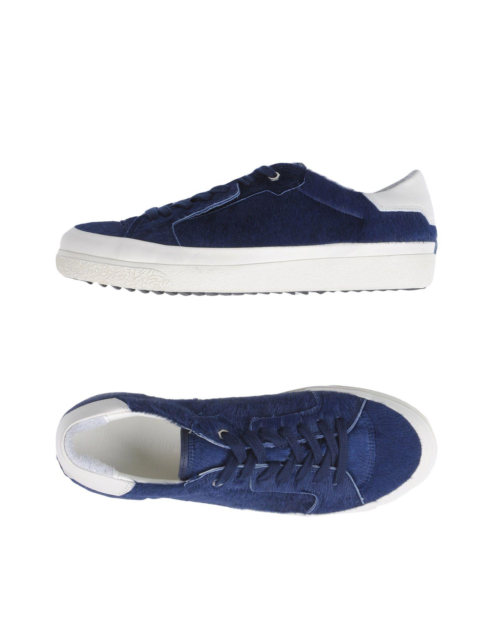 Sneakers Pantofola D'oro Homme - Sneakers Pantofola D'oro  Bleu foncé Dernières chaussures discount pour hommes et femmes