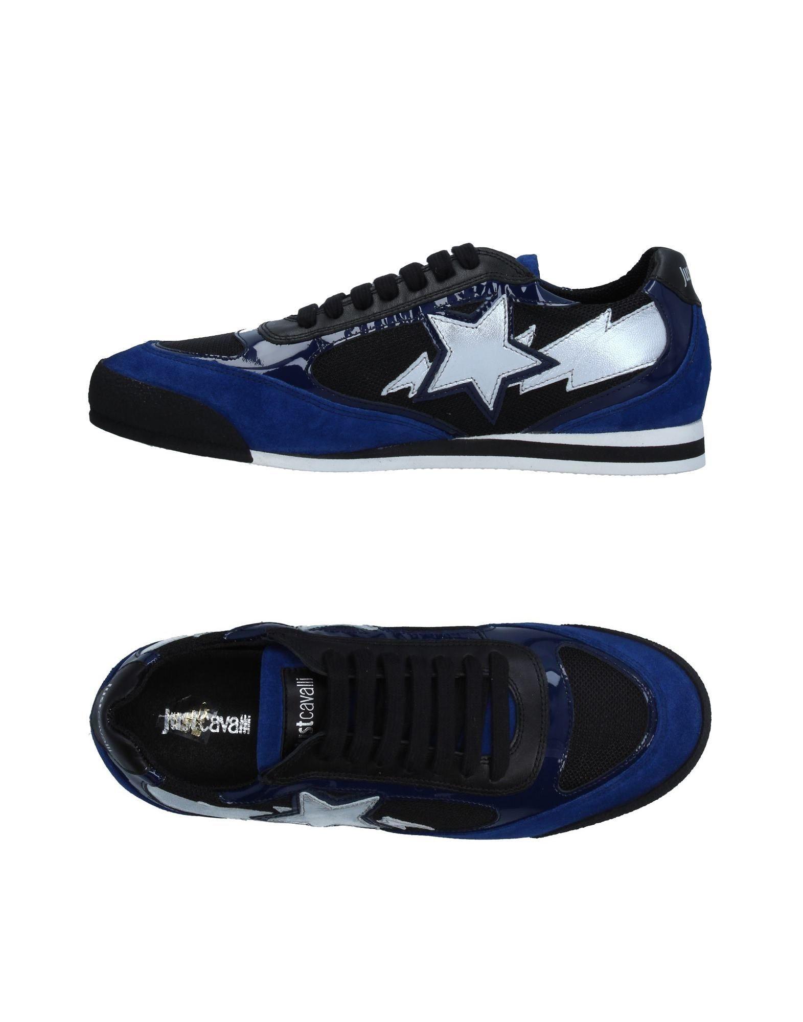 Sneakers Just Cavalli Homme - Sneakers Just Cavalli  Noir Dernières chaussures discount pour hommes et femmes