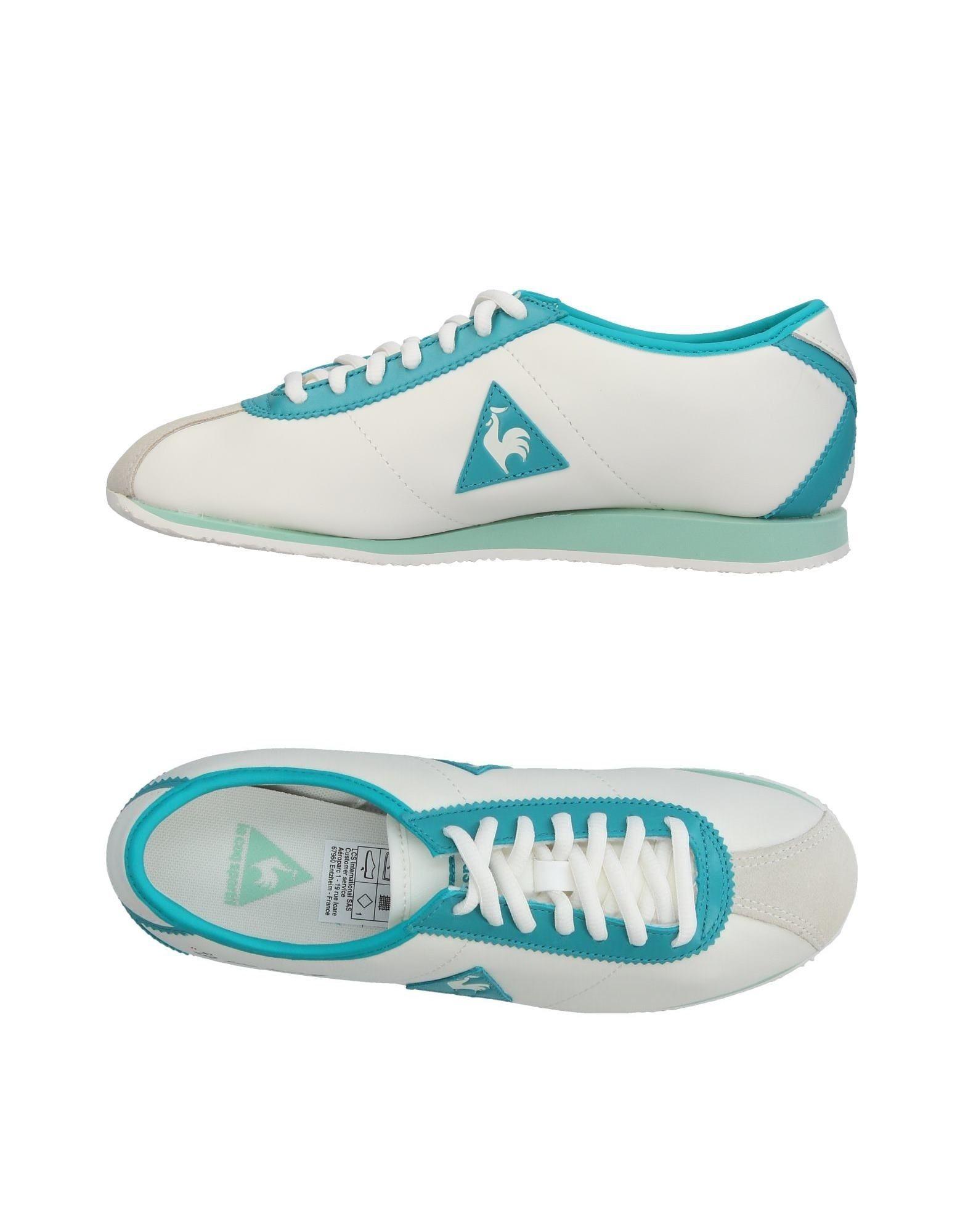 LE COQ SPORTIF Baskets Flash Sns Turquoise TM)J