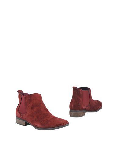 ATELIER MERCADAL Ankle Boot in Maroon