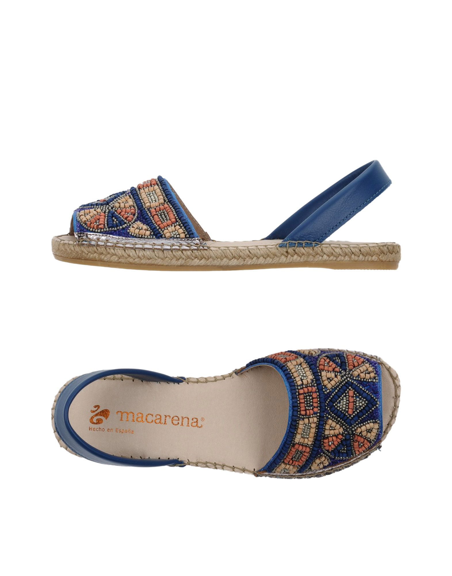 Günstige und modische Schuhe Macarena® Sandalen Damen  11354764XT