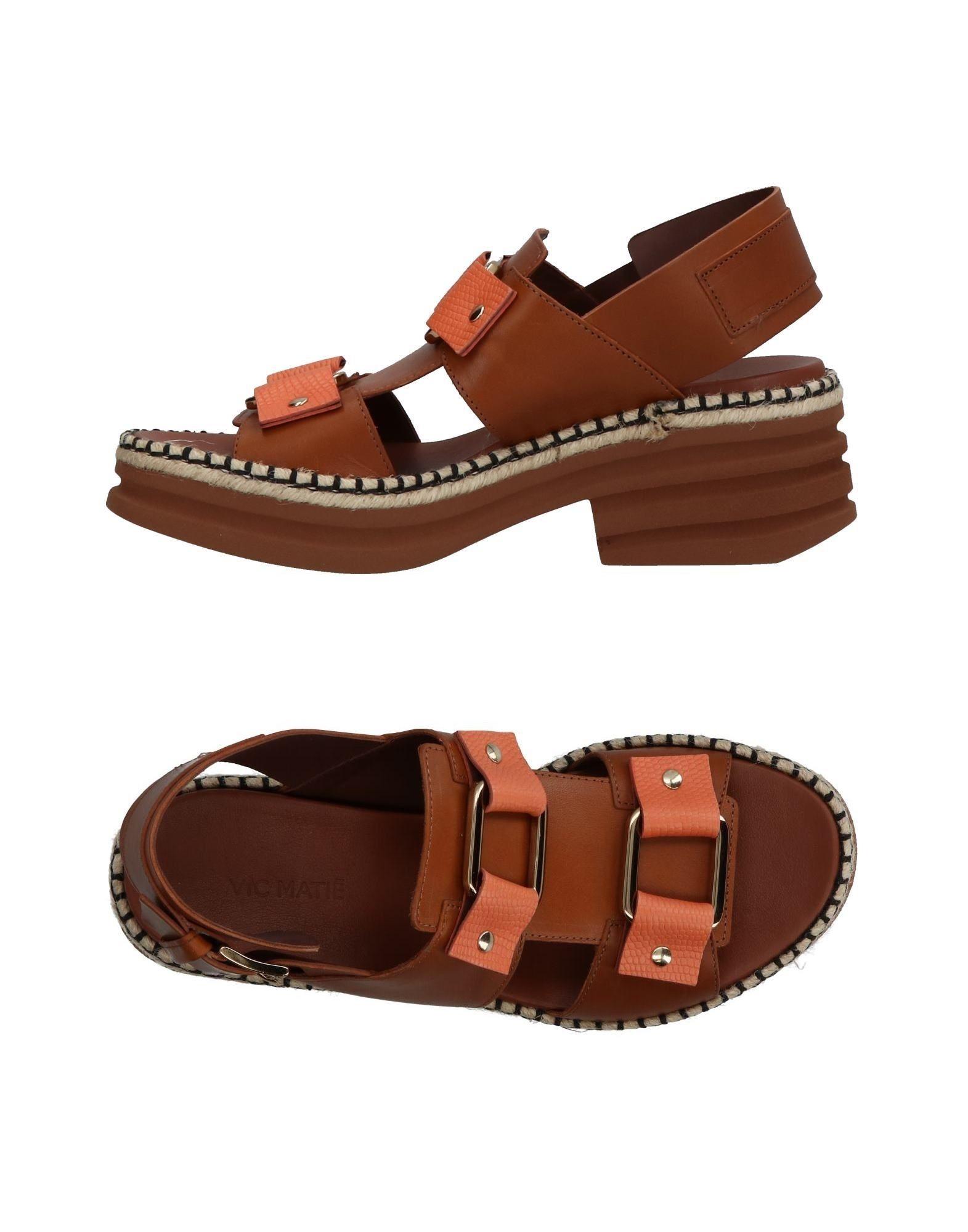 Stilvolle billige Schuhe Vic Matiē Sandalen Damen  11354995LK
