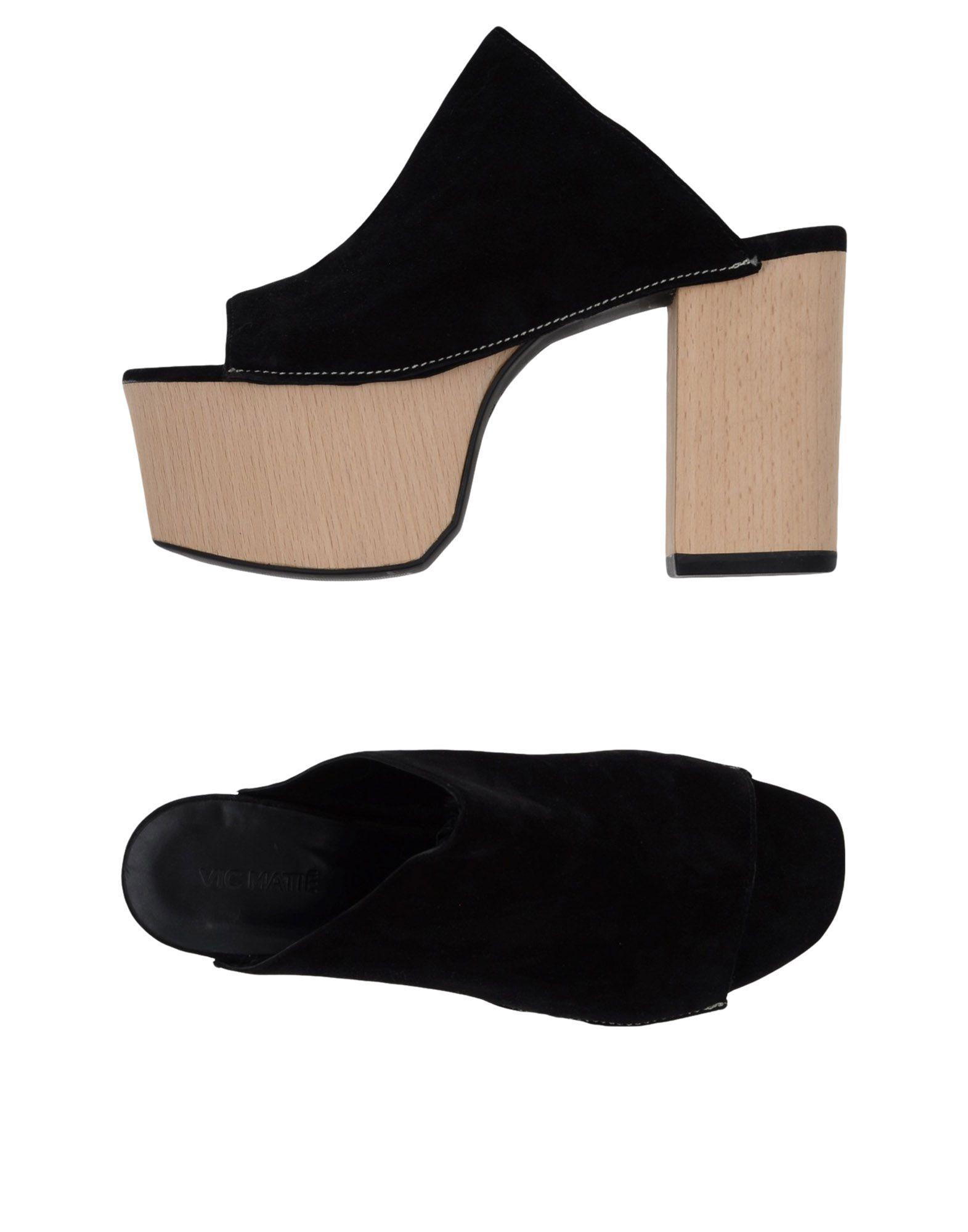 Stilvolle billige Damen Schuhe Vic Matiē Pantoletten Damen billige  11355019UV 4d1f80