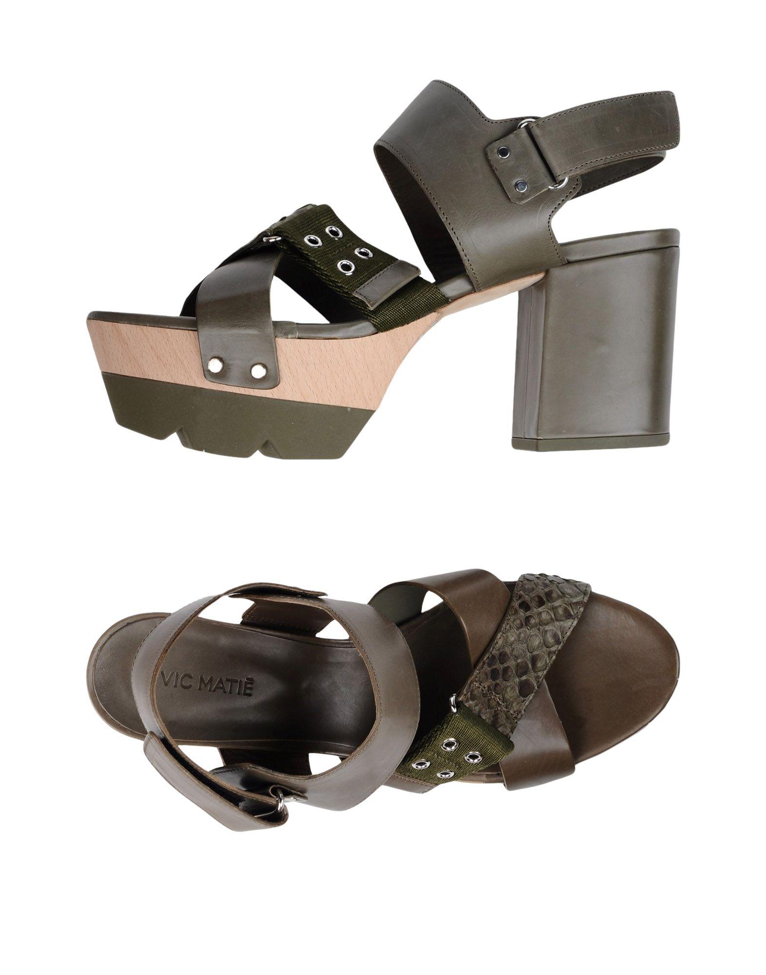 Stilvolle billige Schuhe Vic Matiē Sandalen Damen  11355036PA