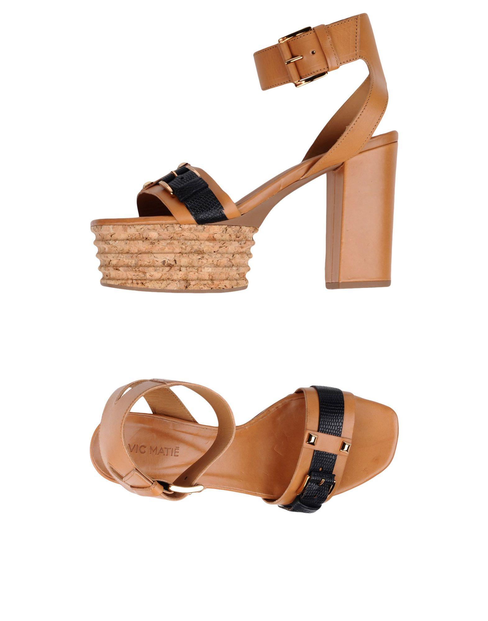 Stilvolle billige Sandalen Schuhe Vic Matiē Sandalen billige Damen  11355043XE b0a3b9