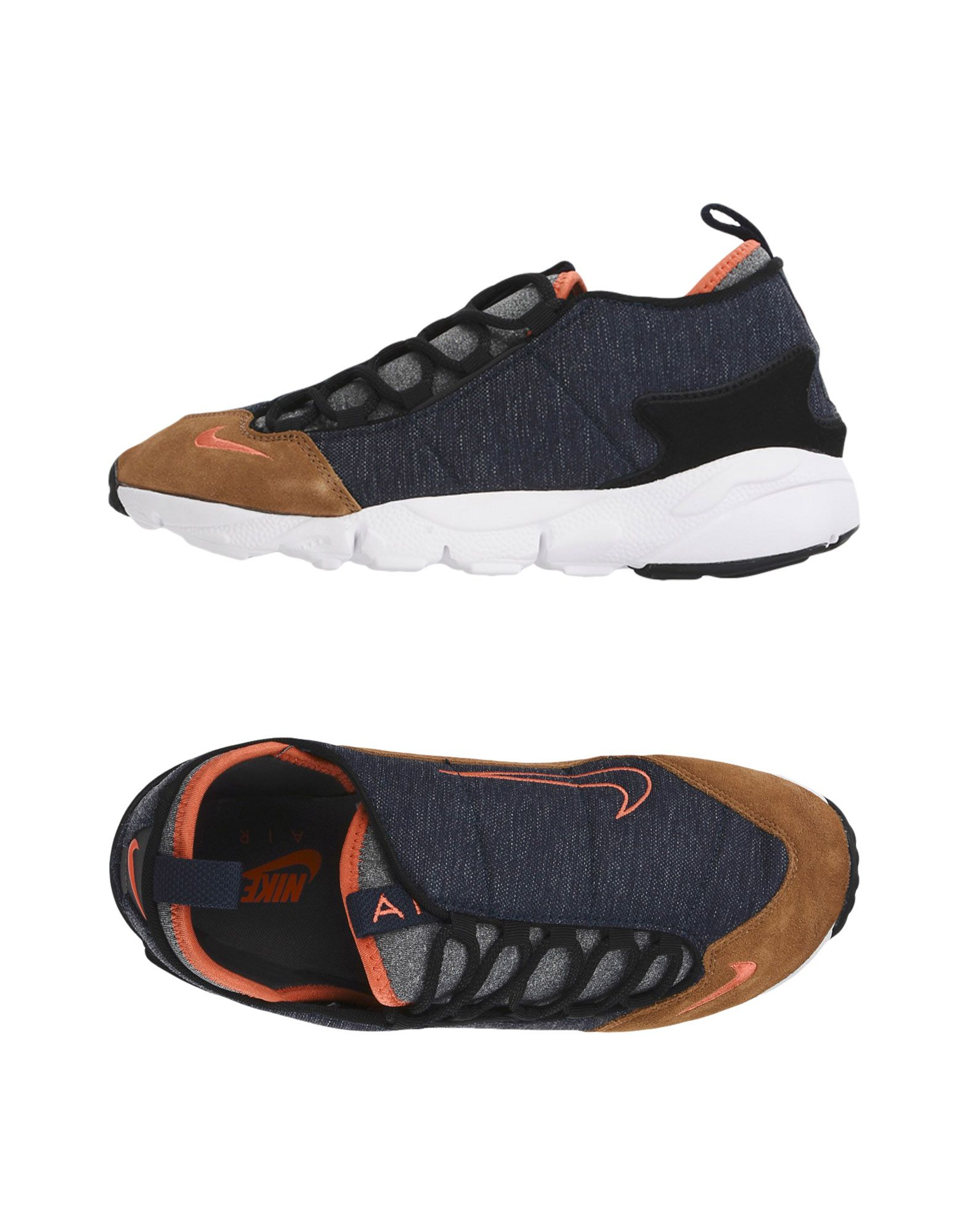 Baskets Nike  Air Footscape Nm - Femme - Baskets Nike Bleu foncé Mode pas cher et belle