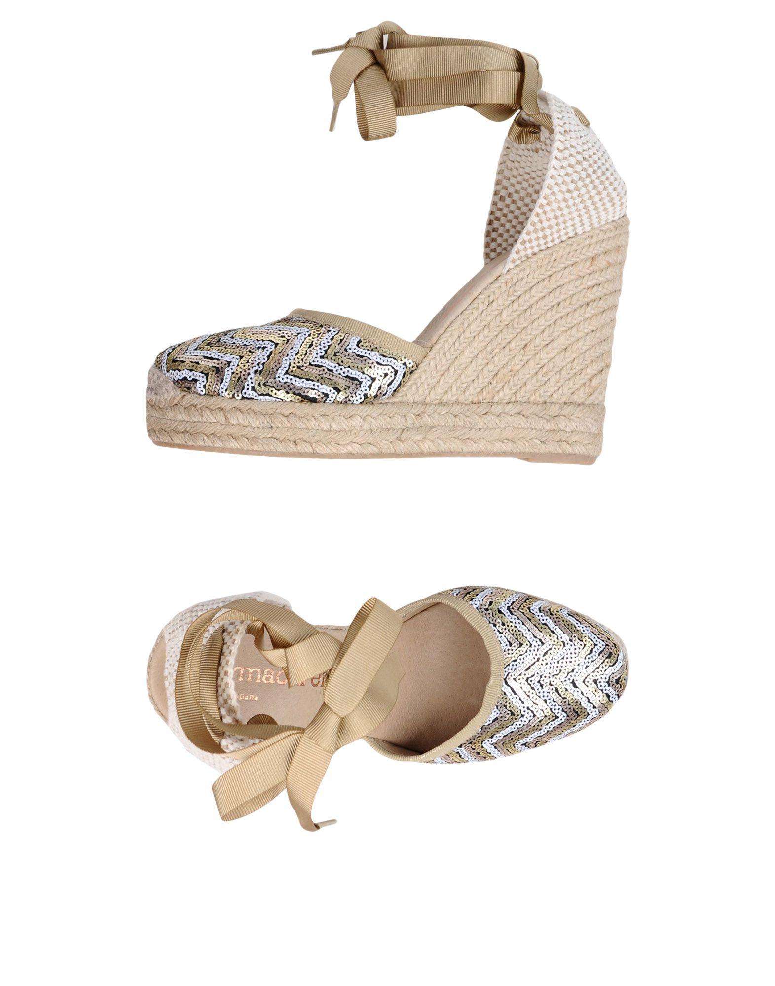 Günstige und modische Schuhe Macarena® Espadrilles Damen  11355663CW