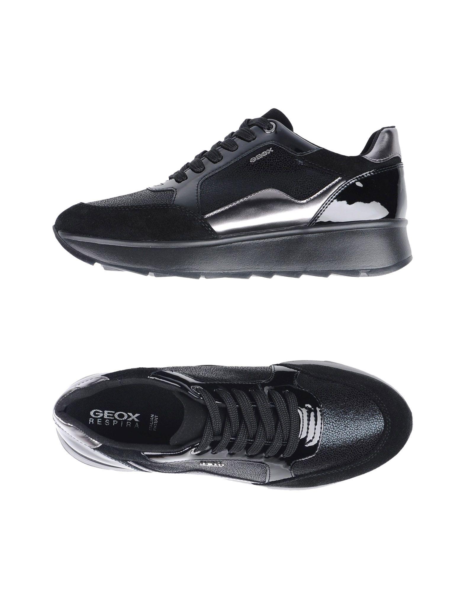 Zapatillas Geox Mujer Zapatillas - Zapatillas Mujer Geox  Negro 03a028