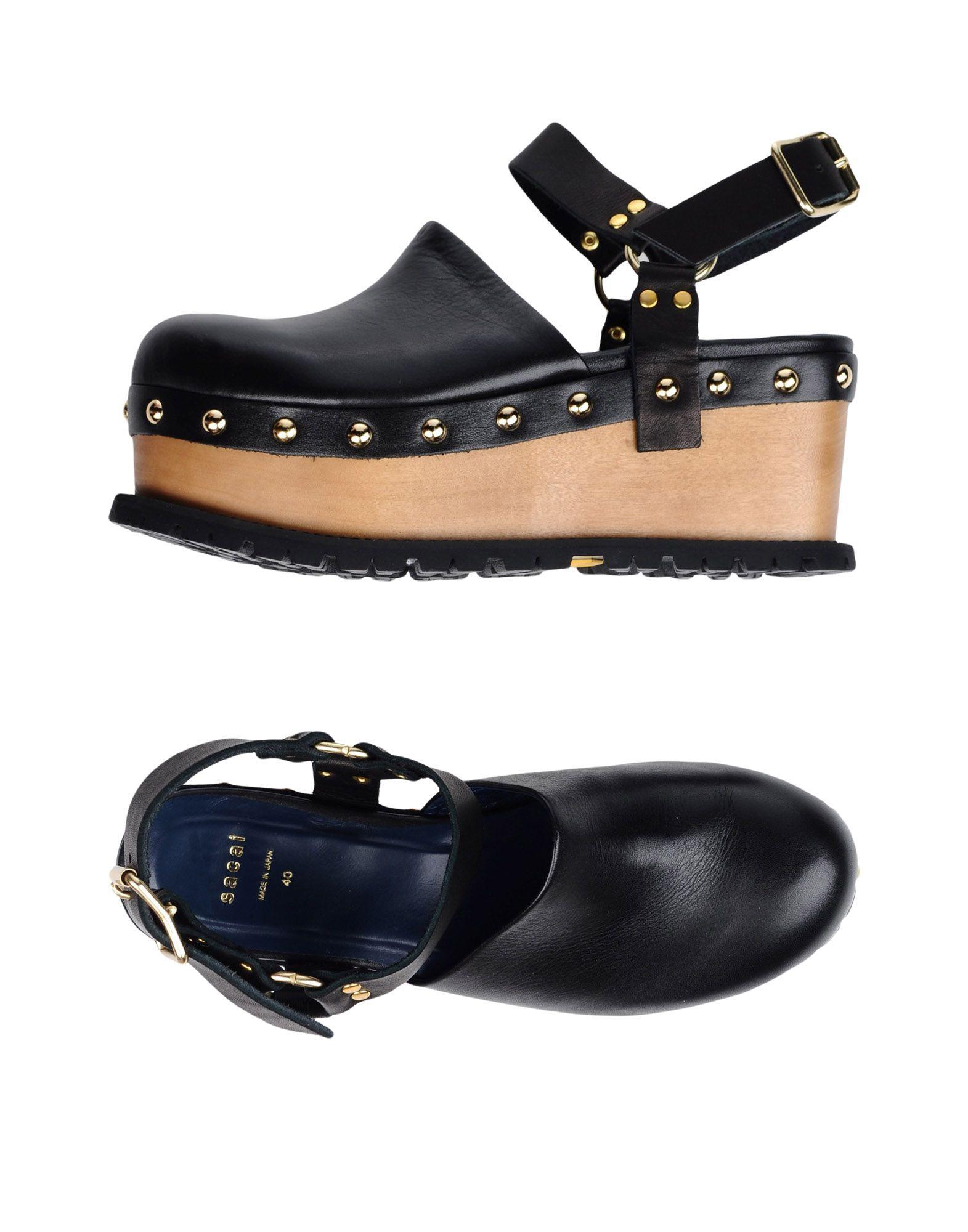 Sacai Pantoletten Damen Schuhe  11356468RNGünstige gut aussehende Schuhe Damen e92608