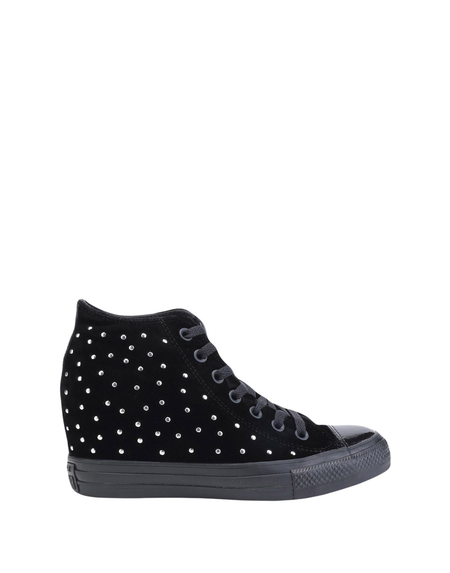 Sneakers Converse All Star Ct As Mid Lux Velvet Studs - Donna - 11356638OW